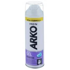 ARKO Гель для бритья Sensitive 200ml белый