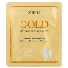 Petitfee Гидрогелевая маска Gold Hydrogel Mask Pack 30 мл