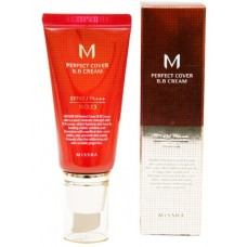 Missha Тональный крем M Perfect Cover BB Cream SPF42/PA+++ #13 Bright Beige 20 мл
