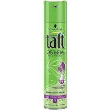 Taft лак 225 ml Воздушный Обьём зелёный красн.полоса мегафикс 5