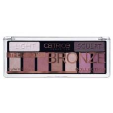 Catrice тени  9-цветные Bronze Collection