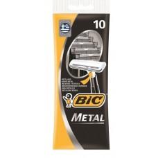 Bic одноразовый cтанок металл 10шт.