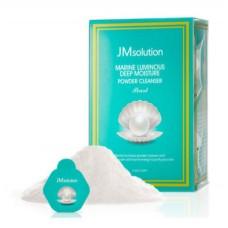 JM Solution Энзимная пудра для умывания с жемчугом Marine Luminous Pearl Deep Moisture Powder Cleanser Pearl 30шт по 3,5 г