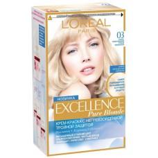 L'Oreal Excellence Blond Supreme 03 Светло-светло-русый пепельный