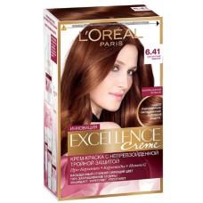 L'Oreal Excellence  6.41 Элегантный медный