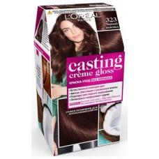 L'Oreal Casting Creme Gloss 323 Черный шоколад