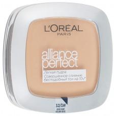 L'Oreal пудра Alliance Perfect Совершенное слияние D3 Светло-бежевый золотистый