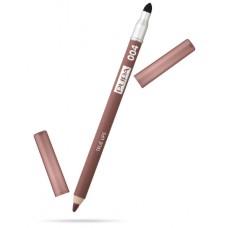 Pupa карандаш для губ True Lips 04 коричневый