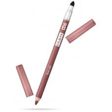 Pupa карандаш для губ True Lips 06 коричнево-красный