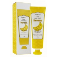 FarmStay Крем для Крем для рук с экстрактом банана I Am Real Fruit Banana Hand Cream 100 мл