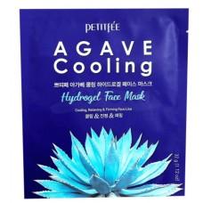 Petitfee Гидрогелевая маска для лица с охлаждающим эффектом Agave Cooling Hydrogel Face Mask 32 г