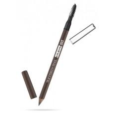 Pupa карандаш д.бровей True Everybrow Pensil 02 brown