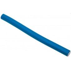 Dewal Бигуди бумеранги BUM-14180 синие короткие d14мм 180мм