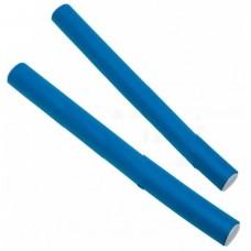 Dewal Бигуди бумеранги BUM-14240 синие длинные d14мм 240мм