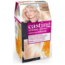 L'Oreal Casting Creme Gloss 10.21 Светло-светло-русый перламутровый